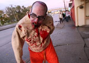 Omaha Zombie Walk tonight in Benson