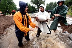 Floods turn Colorado paradise to disaster area