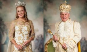 The Ak-Sar-Ben Ball King and Queen are...