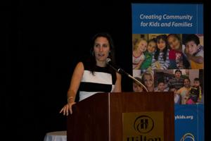 Around and about: 660 hear parenting author at Completely KIDS lunch