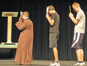 Going Medieval PHS play mixes Chaucer, Monty Python
