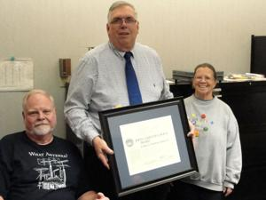 National Weather Service honors Fremont couple for 24 years of weather observing