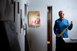 Hansen: Ripping up one career, former architect tore into life of art