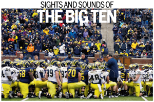 Media days: Sights and sounds of the Big Ten