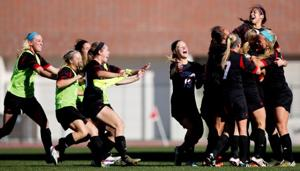 Freshman's late goal puts NU within one win of Big Ten title