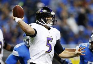 Ravens get 4 FGs, lead Lions 12-10 after 3rd