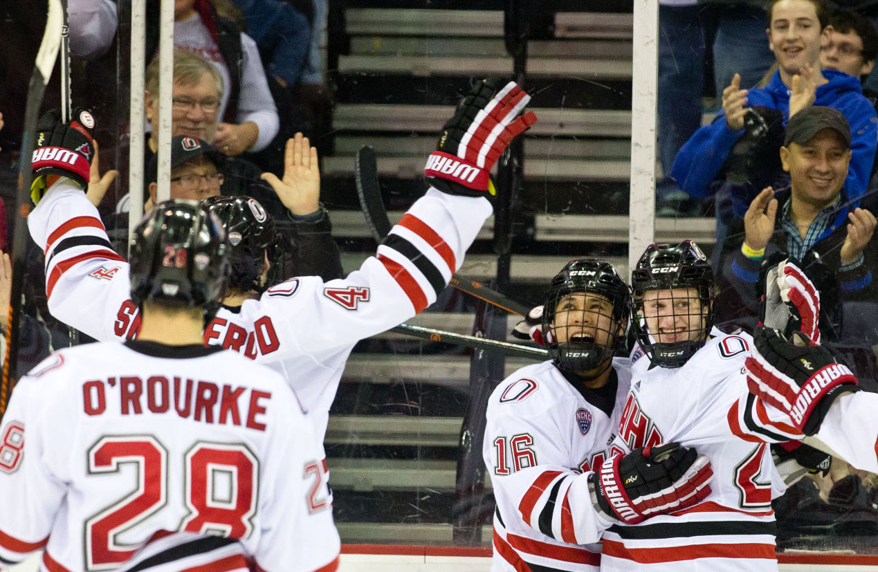 NCHC: Ortega Sets Record As UNO Earns Chance To Host Playoff Series