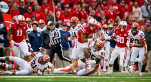 Shatel: Scary-good ground game helps Huskers survive, advance