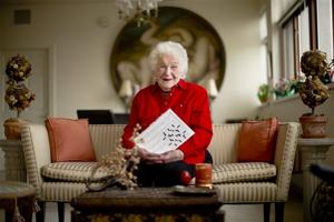 Crossword creator marks 100th birthday with puzzle
