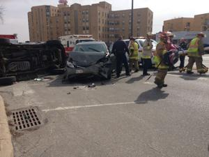 4 injured in accident near downtown Omaha