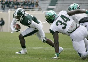 Michigan State's defense scores two touchdowns