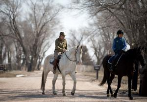 For this 89-year-old horseman, it's always the cavalry way