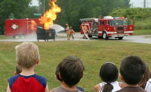 Bellevue camp teaches fire safety