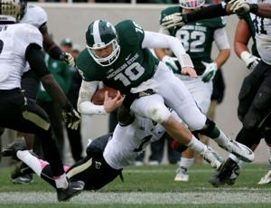 Spartan QB helped fuel B1G title run, but seeks more progress in 2014