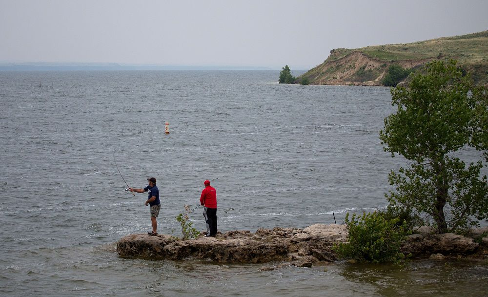 Lake mcconaughy project draft plan reveals major for Lake mcconaughy fishing