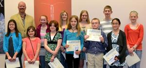 Youths' essays honored