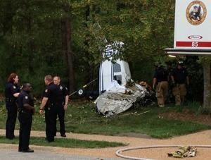 Virginia plane crash victims were Air Force general, wife