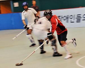 Nebraska floor hockey team golden at Special Olympics