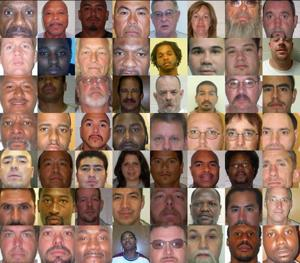 These 51 inmates were committing crimes when they should have been in prison