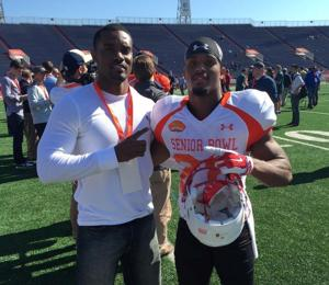 Ameer Abdullah's brother helps carry some of running back's load — as his agent