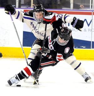 UNO drops playoff opener, but Blais sees progress