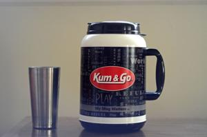 Review: Kum & Go's 100-ounce coffee is monstrous, patriotic, a great deal