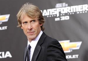 Someone tried to hit Michael Bay with an air conditioner