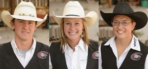 Three Eagles will be competing in the College National Finals Rodeo