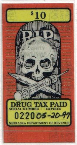 Nebraska gets a cut of illegal drug revenue, in an artful way