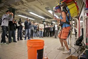 NYC subway performers eke out a living