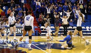 Jays advance with four-set win