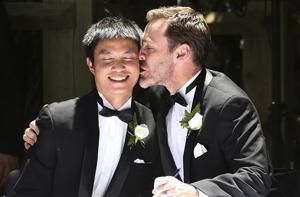 First Australian gay weddings held in capital city