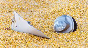 Semi overturns, spills grain in west Omaha