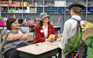 An immersive lesson at Hickory Hill