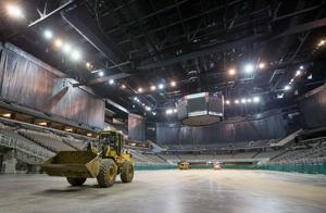 CenturyLink Center gets a makeover for equestrian competition