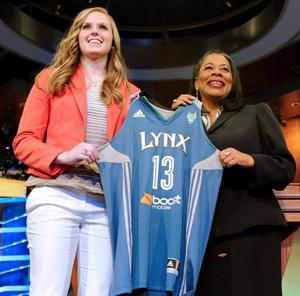 NU's Moore 'ecstatic' with her draft status