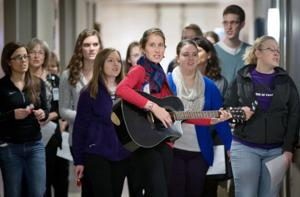 Music therapy brings a welcome sense of normalcy to youngsters at Med Center