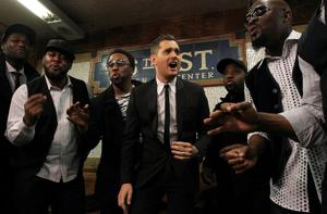 Buble sings with a fresh perspective on new album