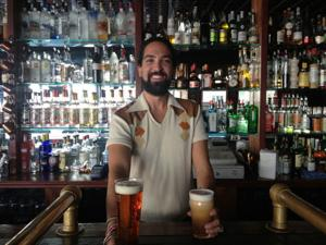 Jakes's bartender Alex Jochim shares his invented drink, the PFY