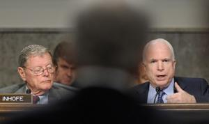 McCain says Hagel not qualified for Pentagon