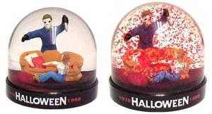 Check out this Michael Myers bloody snow globe