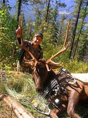 Nebraskan's pursuit of elk takes him to picturesque Montana