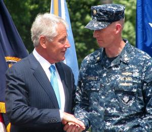 Hagel addresses StratCom on nuclear weapons, sexual assault