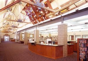 Throughout its history, Benson library has had many plot twists