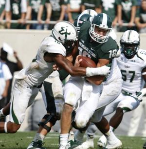 Big Ten Notes: Dantonio looking for spark from freshman