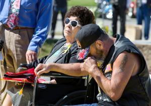 Marine's valor honored with South Omaha monument