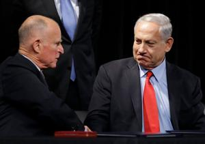 Business digest: Netanyahu, Brown sign pro-business deal in California