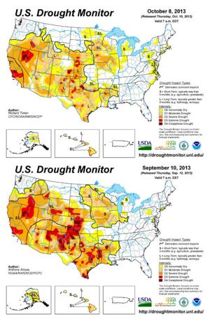 Nancy's Almanac, Oct. 11, 2013: Drought eases in Nebraska