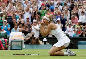 Serena ousted from Wimbledon