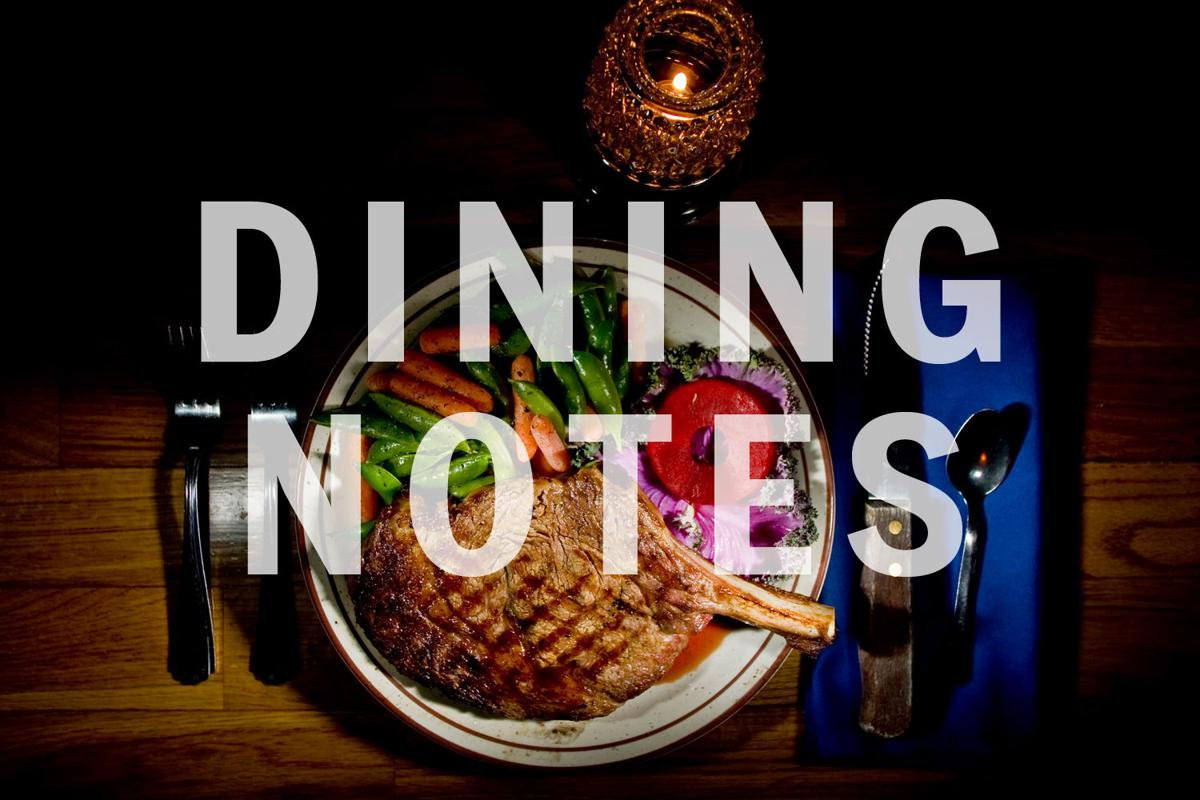 Dining Notes 5th Anniversary Celebration Includes